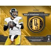 2017 Panini Gold Standard Football Hobby 12 Box Case