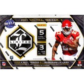 2017 Panini Limited Football Hobby 15 Box Case