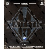 2017 Panini Majestic Football 5 Box Case