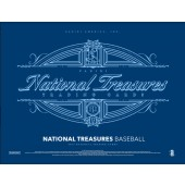 2017 Panini National Treasures Baseball Hobby 4 Box Case
