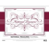 2017 Panini National Treasures Football Hobby 4 Box Case