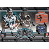 2017 Panini Plates & Patches Football Hobby Box