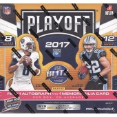 2017 Panini Playoff Football Hobby 20 Box Case