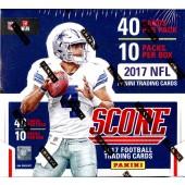 2017 Panini Score Football Jumbo 12 Box Case