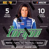 2017 Panini Torque Racing Hobby 16 Box Case