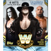 2017 Topps Legends of WWE 8 Box Case