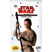 2017 Topps Star Wars Journey To The Last Jedi Hobby 12 Box Case