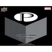 2017 Upper Deck Marvel Premier Trading Card 6 Box Case