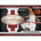2018/19 Panini Certified Basketball Hobby 12 Box Case