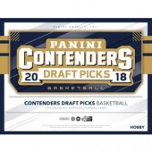 2018/19 Panini Contenders Draft Basketball Hobby 12 Box Case