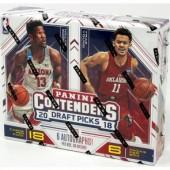2018/19 Panini Contenders Draft Basketball Hobby 12 Box Case