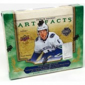 2018/19 Upper Deck Artifacts Hockey Hobby 10 Box Case