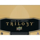2018/19 Upper Deck Trilogy Hockey Hobby 10 Box Case