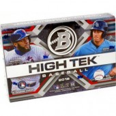 2018 Bowman High Tek Baseball Hobby 12 Box Case