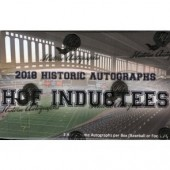 2018 Historic Autographs Hall Of Fame Inductees 10 Box Case