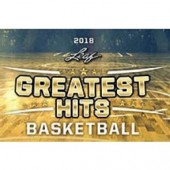 2018 Leaf Greatest Hits Basketball 2 Box Case