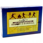 2018 Leaf History of Baseball Cut Signature Box