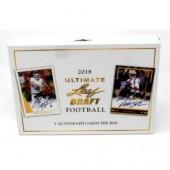 2018 Leaf Ultimate Draft Football Hobby Box