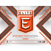 2018 Panini Elite Draft Football Hobby 16 Box Case