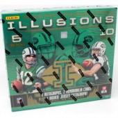 2018 Panini Illusions Football Hobby 16 Box Case + 32 Kickoff Packs