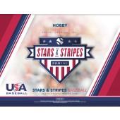 2018 Panini Stars and Stripes Baseball Hobby 20 Box Case
