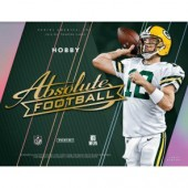 2018 Panini Absolute Football Hobby 10 Box Case