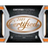 2018 Panini Certified Football Hobby 24 Box Case