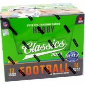 2018 Panini Classics Football Hobby 10 Box Case