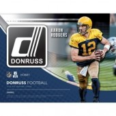 2018 Panini Donruss Football Hobby 18 Box Case