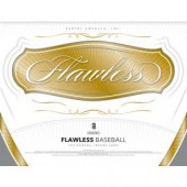 2018 Panini Flawless Baseball Hobby 2 Box Case