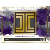 2018 Panini Impeccable Football Hobby Box