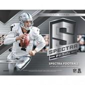 2018 Panini Spectra Football Hobby Box