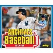 2018 Topps Archives Baseball Hobby 10 Box Case