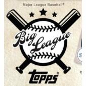 2018 Topps Big League Baseball Box