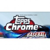 2018 Topps Chrome Baseball Jumbo HTA Box