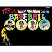 2018 Topps Heritage High Number Baseball Hobby 12 Box Case