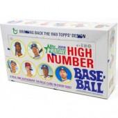 2018 Topps Heritage High Number Baseball Hobby 12 Box Case