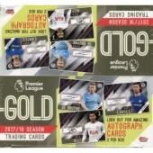 2018 Topps Premier Gold Soccer Hobby 8 Box Case