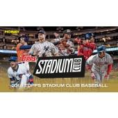 2018 Topps Stadium Club Baseball Hobby 16 Box Case