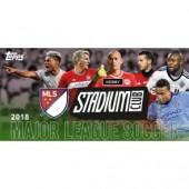2018 Topps Stadium Club MLS Soccer Hobby 16 Box Case