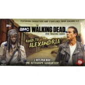 2018 Topps The Walking Dead Road to Alexandria - 8 Box Case