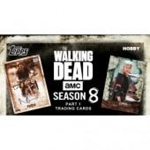 2018 Topps The Walking Dead Season 8 Trading Cards - 8 Box Case
