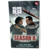2018 Topps The Walking Dead Season 8 Trading Cards - 8 Box Case