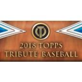 2018 Topps Tribute Baseball Hobby 6 Box Case