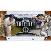 2018 Topps Tribute Baseball Hobby 6 Box Case
