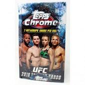 2018 Topps UFC Chrome Hobby 12 Box Case