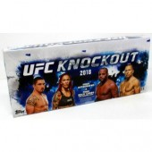 2018 Topps UFC Knockout Hobby 12 Box Case