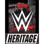 2018 Topps WWE Heritage Wrestling Hobby 12 Box Case