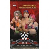 2018 Topps WWE Wrestling Hobby 12 Box Case