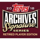 2018 Topps Archives Signature Series Retired Player Ed Baseball 20 Box Case